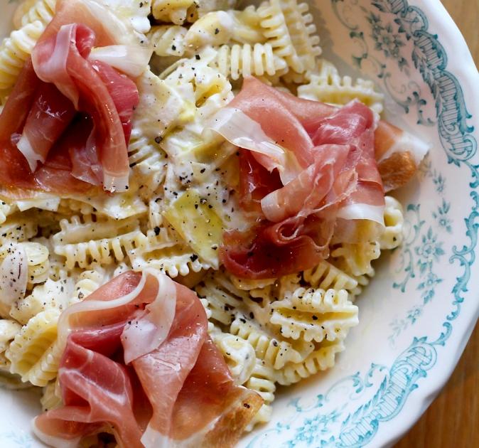 pasta met mascarpone