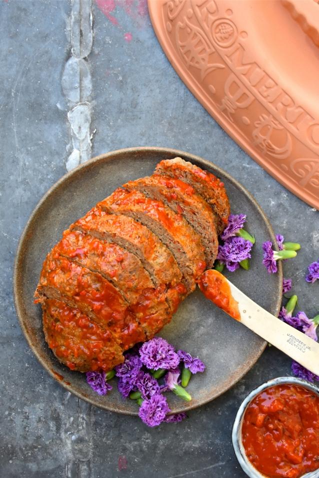 Gehaktbrood uit de Romertopf