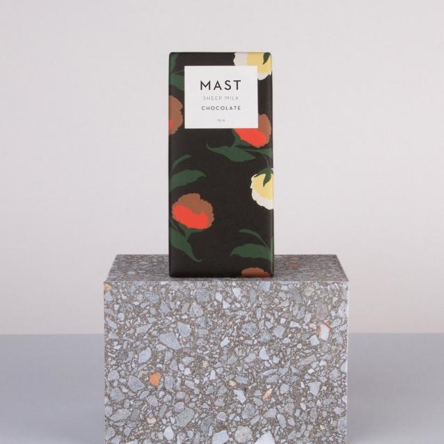 Schapenmelk en geitenmelk chocolade Mast Brothers