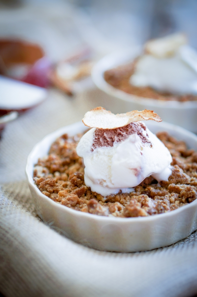 Stock Apple crumble