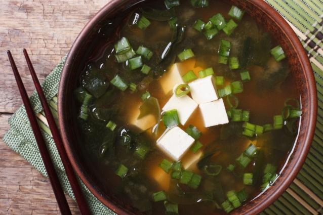 Stock miso soep
