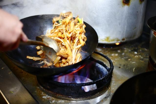 Stock wok