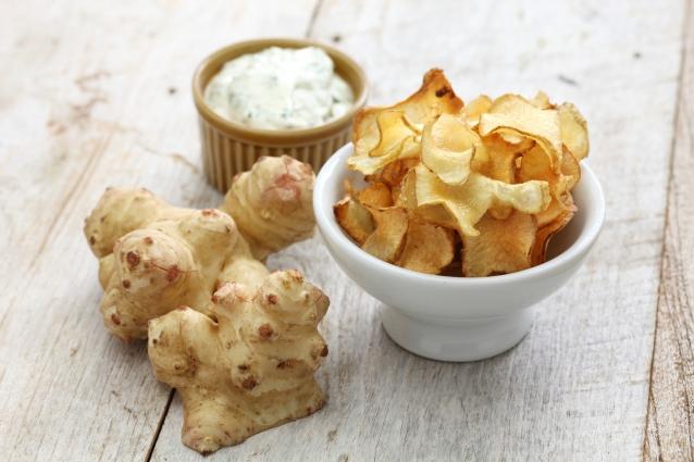 Stock aardpeer chips