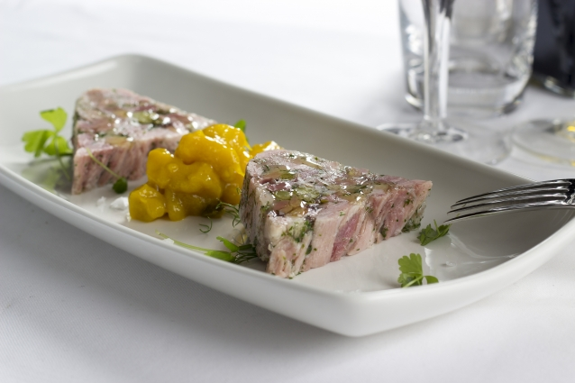 Stock terrine piccalilly