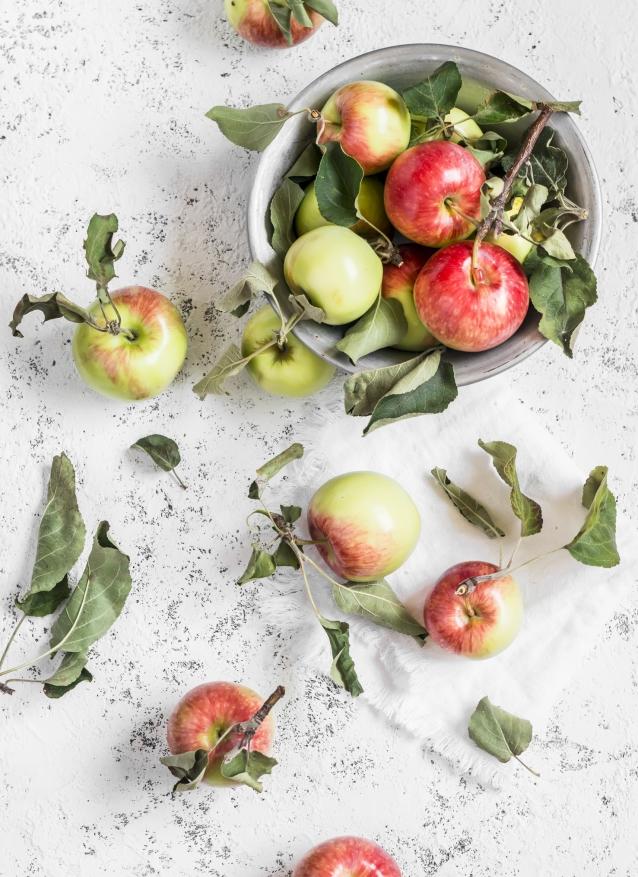 appels plukken boomgaard