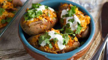 gepofte aardappel / hartige gerechten met yoghurt