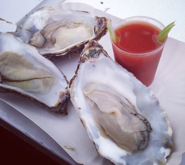 oester bloody mary
