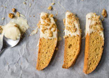 Cantuccini met pumpkin spice