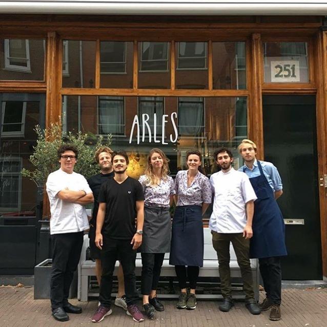 Het team van Arles