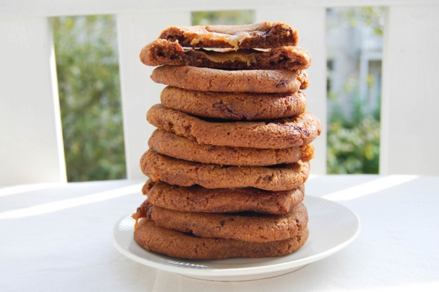 salted caramel beurre noisette chocolate chip cookies