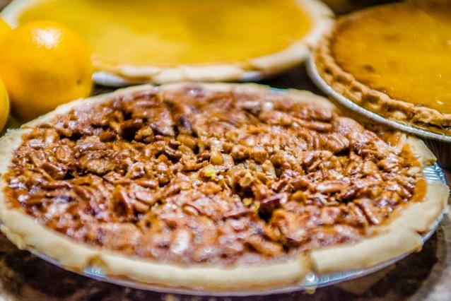 Stock pecan pie