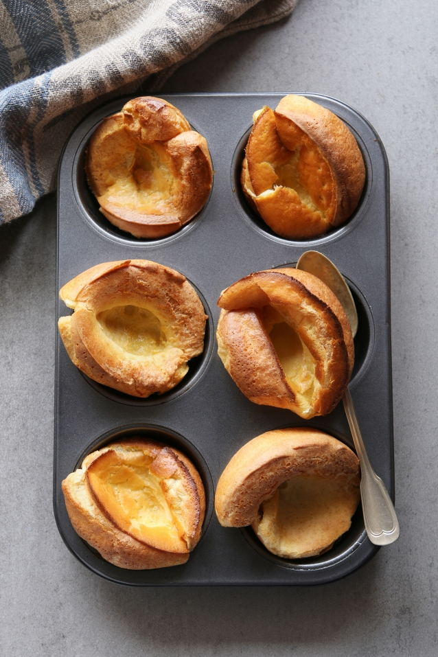 Stock yorkshire pudding