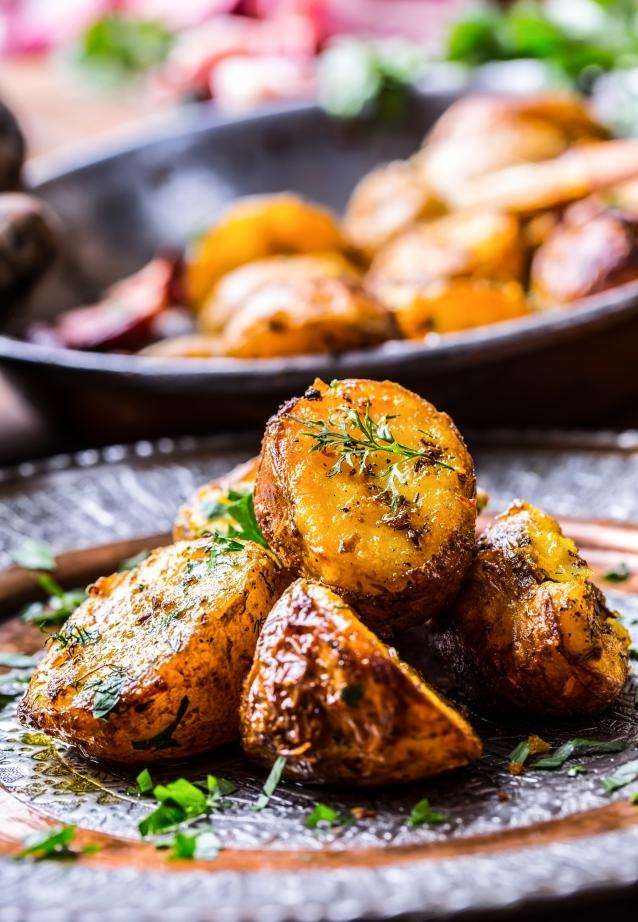 Stock aardappels