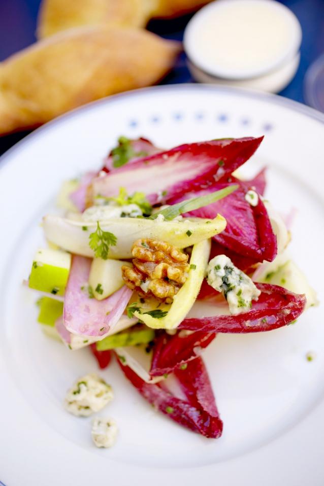 Herfstige salade met witlof van Ottolenghi