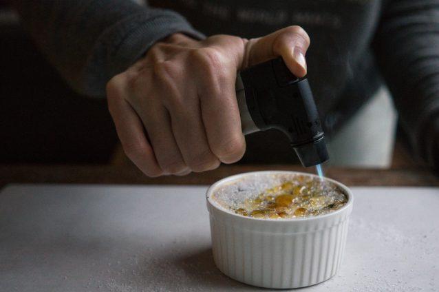 Oreo crème brûlée