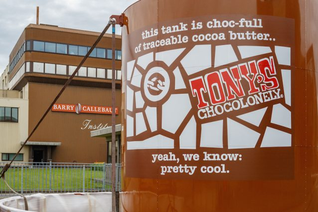 Tony's Chocolonely fabriek