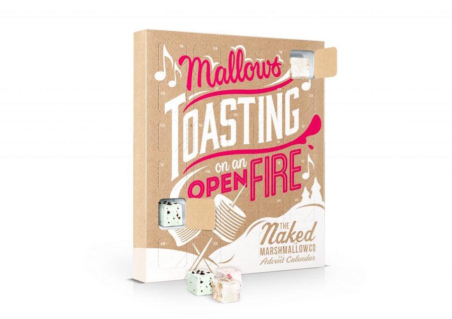 Naked marshmallow adventskalender