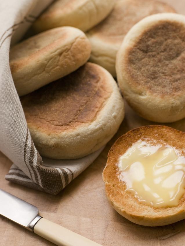 Stock english muffins