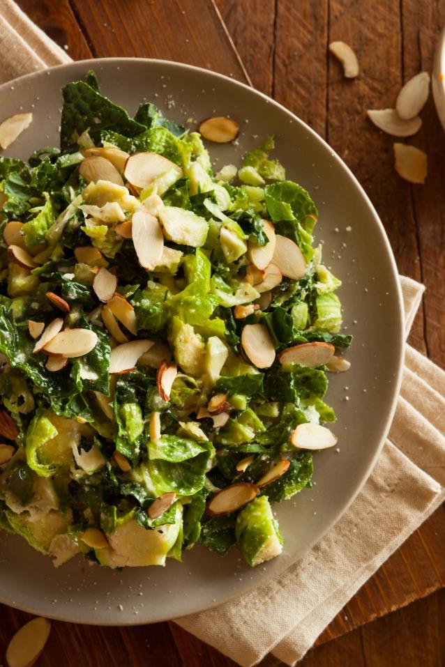 Stock spruitjes salade