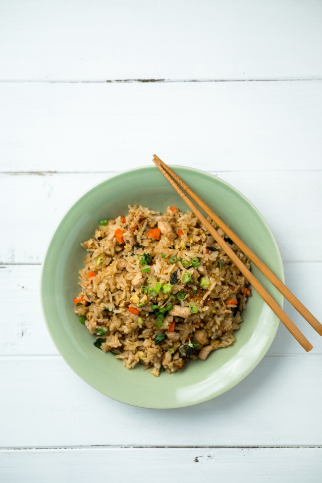 Stock fried rice