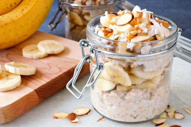 Stock overnight oats