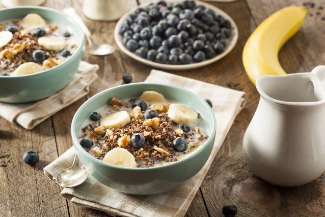Stock ontbijt quinoa