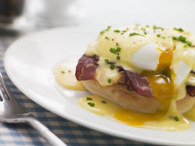 Stock eggs benedict