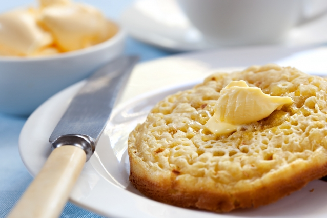 Stock crumpets