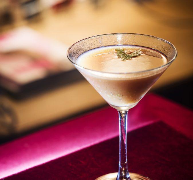 cocktails met zoute karamel