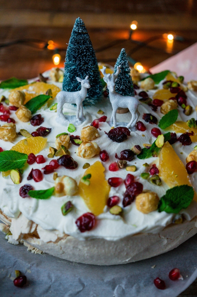 Culy homemade winter wonderland pavlova