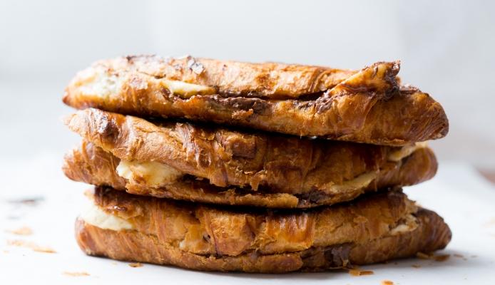 croissants nutella banaan