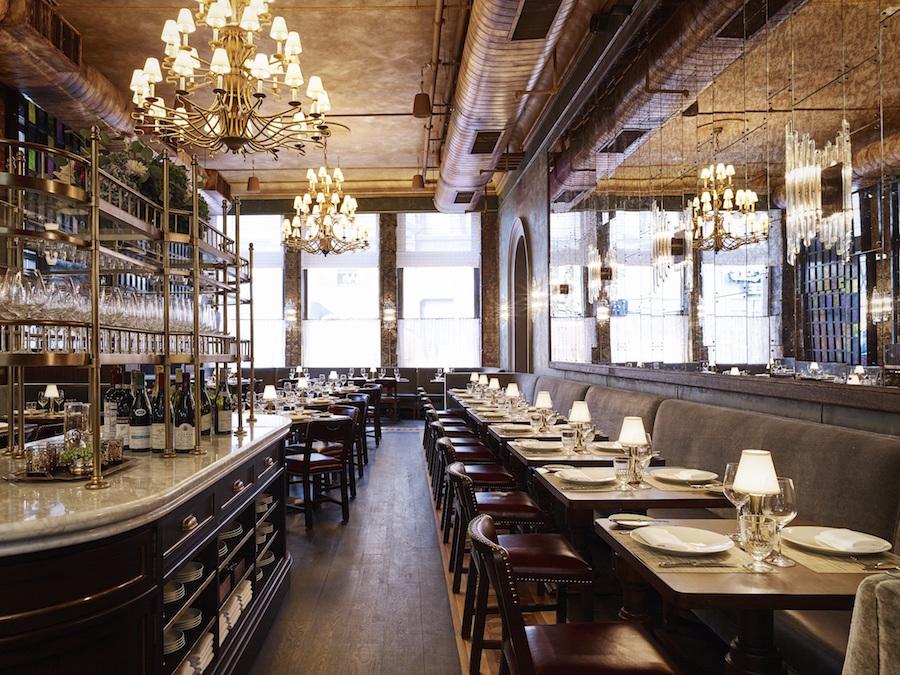 Trend Klassieke New Yorkse Restaurants Met Retro