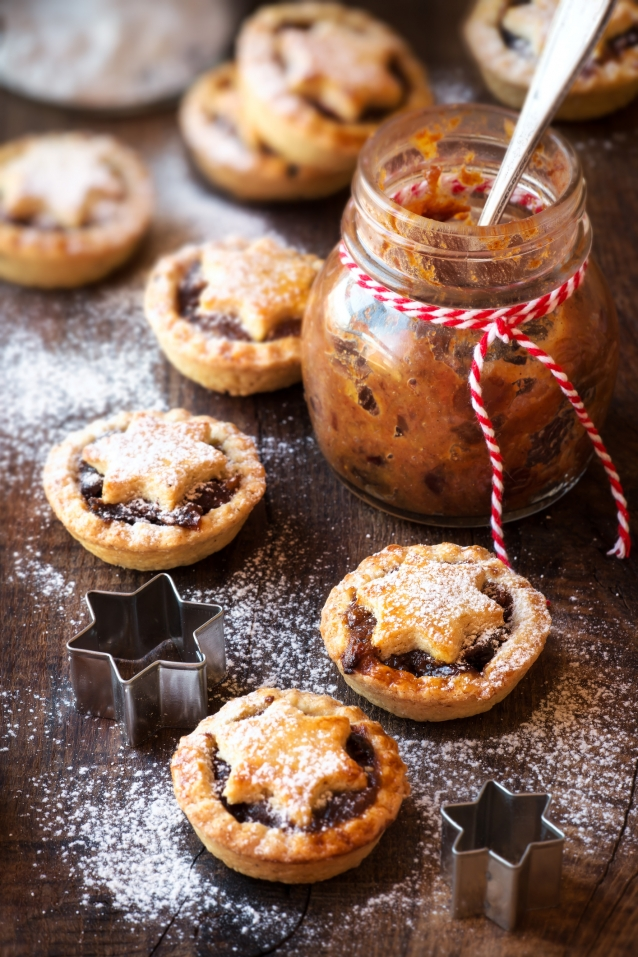 Stock mince pies