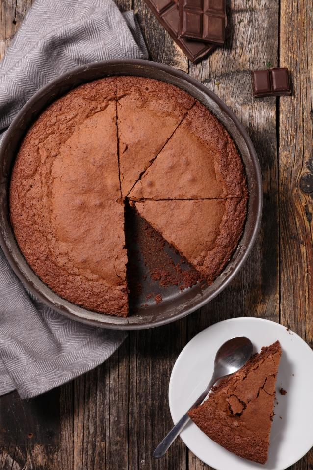 Stock chocolade cake