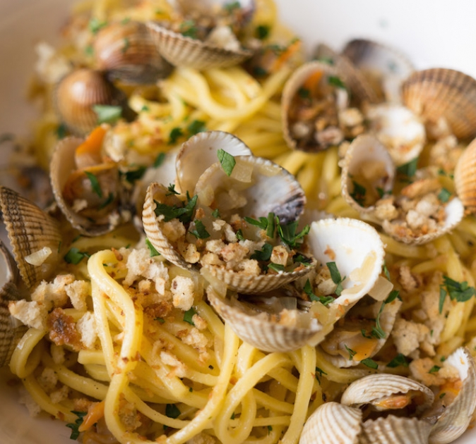 culy homemade vongole bruine boter