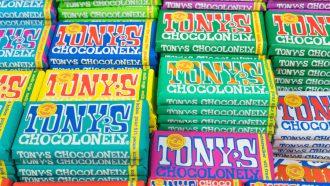 Tony's Chocolonely chocolade