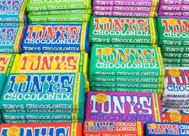 Tony's Chocolonely chocolade