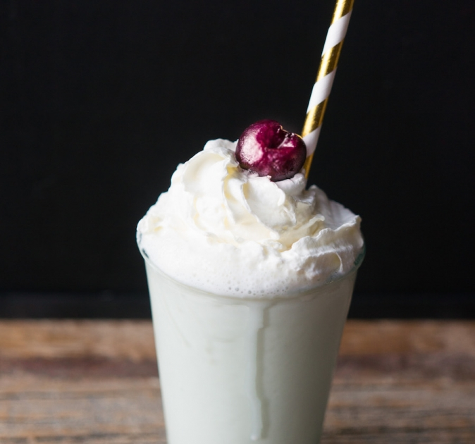 culy homemade pulp fiction milkshake