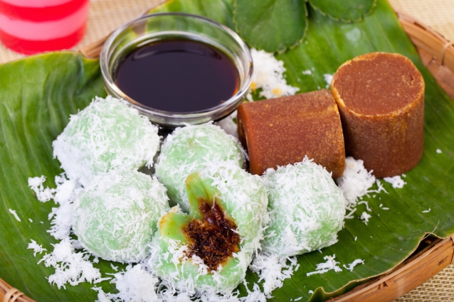 klepon Indonesische snack
