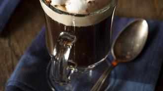 perfecte Irish coffee