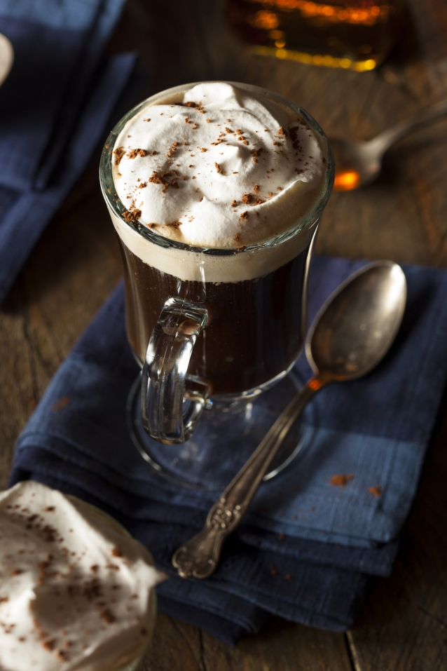 perfecte Irish coffee