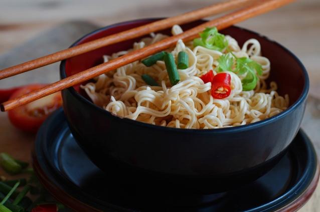 stock instant noodles