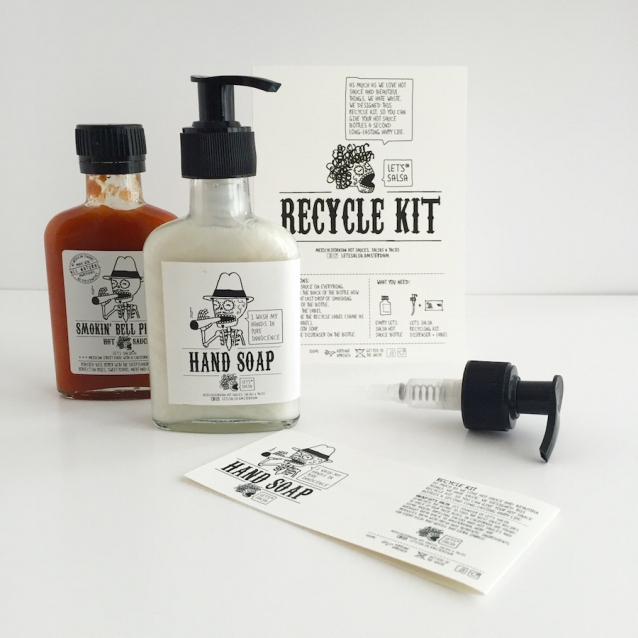 Let's Salsa recycle kit