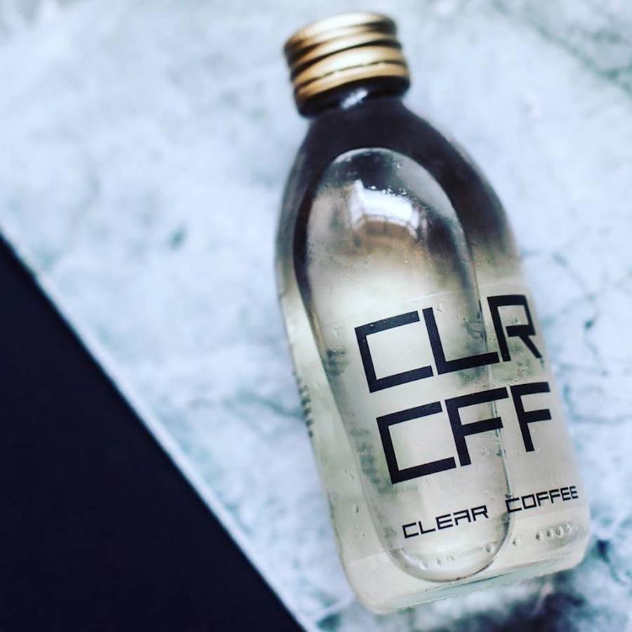 CLR CFF / doorzichtige koffie