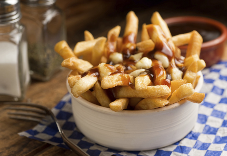 poutine toppings voor frietjes