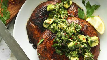 Portobello steak
