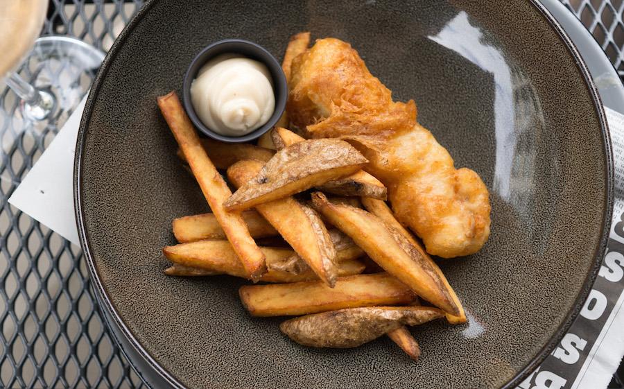 fish & chips Graham's Kitchen