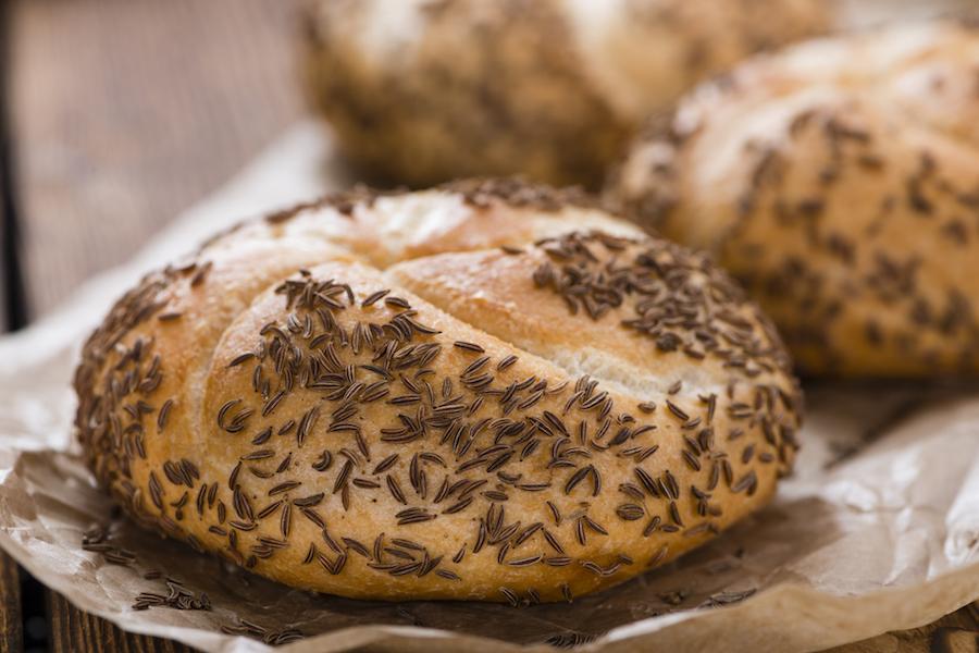 Karwijzaad broodjes