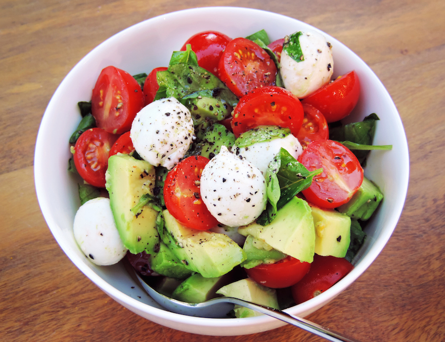 caprese twist avocado