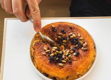 tahdig / knapperig rijstgerecht